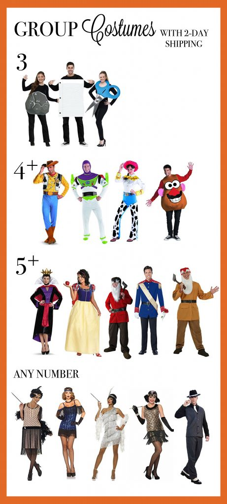 Group Halloween Costumes For 5 People.Group Halloween Costumes For Work School Parties Gem Snatch