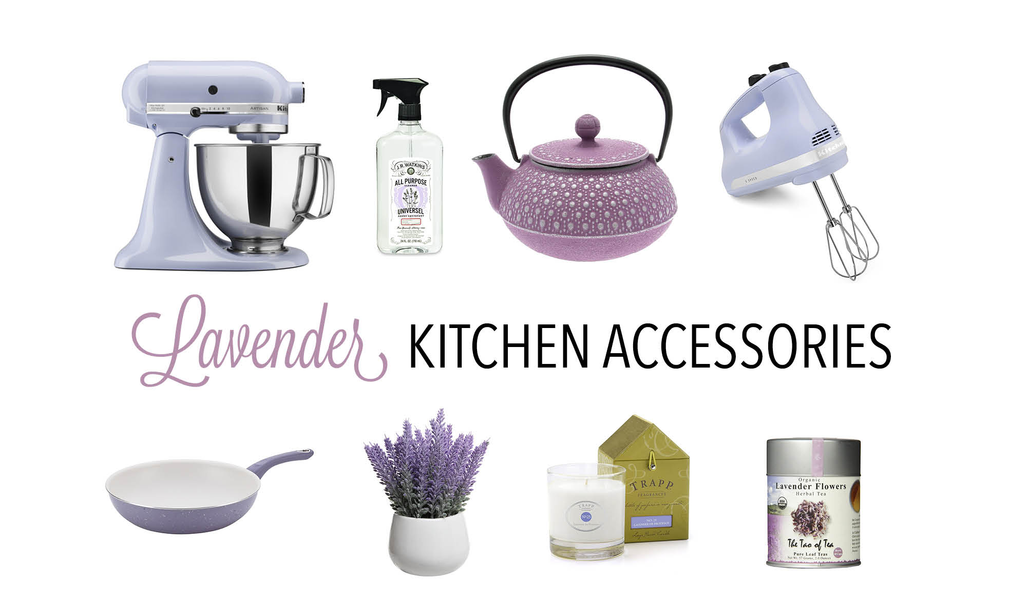 Lavender Kitchen Accessories And Where To Find Them